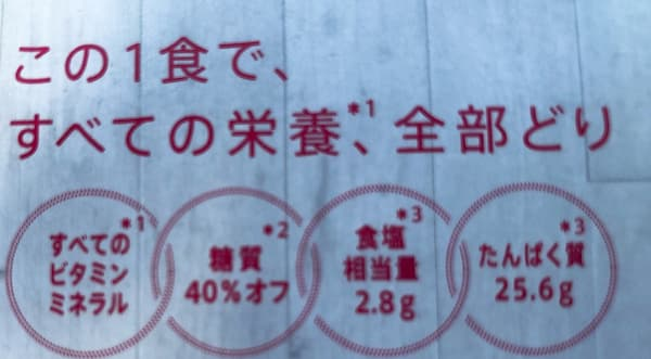 all-in noodlesトムヤムクン栄養素