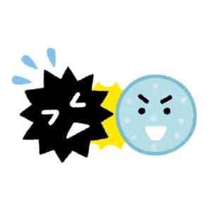 卵はウイルスを倒す